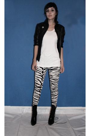 pants - top - Zara jacket