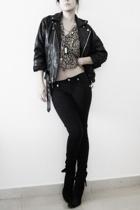 pants - jacket - blouse
