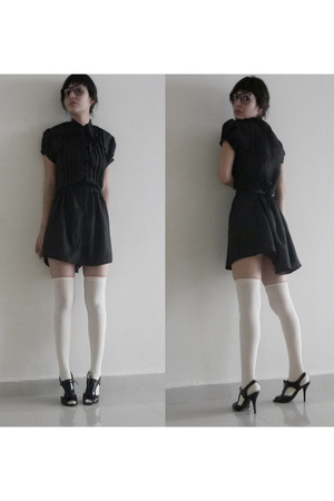 MISS MARS dress - American Apparel socks - Steve Madden shoes - vintage glasses