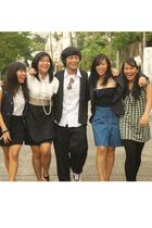 Kamiseta blouse - prp skirt - Plains and Prints dress - Zara skirt - dress