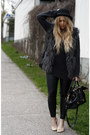 Dark-gray-furry-h-m-vest-black-monki-hat-gray-carlings-sweater