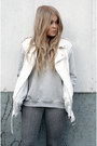 Charcoal-gray-dr-denim-jeans-silver-gina-tricot-jumper