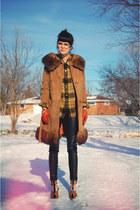 camel camel fur noirohio vintage coat