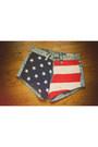 Navy-american-flag-noirohio-vintage-shorts-black-willie-nelson-noirohio-vintag