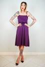 Deep-purple-noirohio-vintage-dress