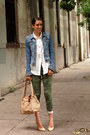Army-green-camouflage-gap-jeans-sky-blue-denim-h-m-trend-jacket
