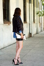 Chambray-forever-21-blouse-animal-print-forever-21-blouse-sequin-zara-blazer