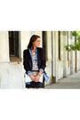 Chambray-forever-21-blouse-animal-print-forever-21-blouse-sequin-zara-blazer