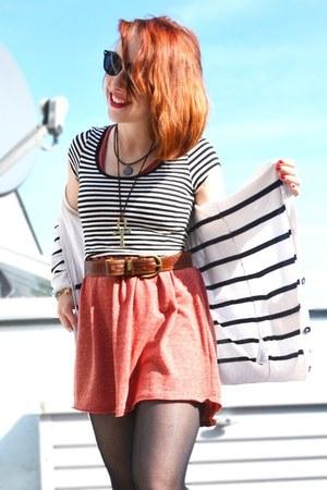 Dr Martens boots - H&M dress - DIY top