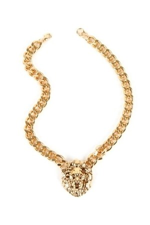 lion head chain SHOP NOTICE MAG necklace