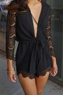 Black-chiffon-shop-notice-mag-romper