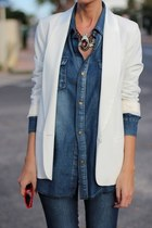 denim unknown brand blazer