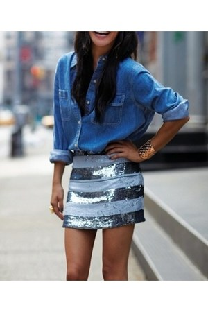 sequin skirt unknown skirt