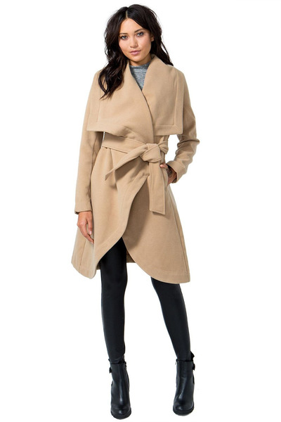 camel coat Lovposh coat