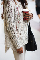 knit sweater unknown blouse
