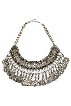 coin fringe SHOP NOTICE MAG accessories