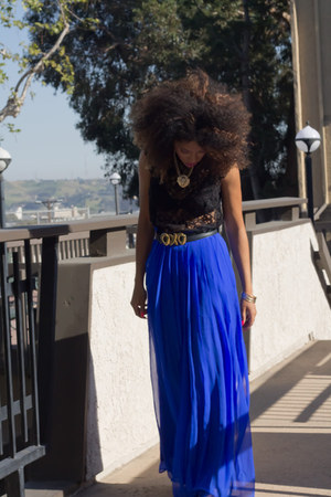 blue Comme ca skirt
