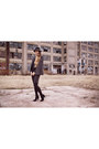 Eugenia-kim-hat-blaque-label-jacket-joes-jeans-leggings