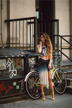 young fabulous and broke skirt - asos shoes - Raga top