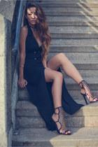 style moi dress - Tamara Mellon shoes - style moi bag - Jules Smith bracelet