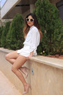 White-vero-moda-blazer-tan-h-m-bag-white-h-m-shorts