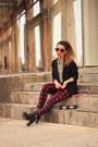 H-m-boots-h-m-blazer-aldo-sunglasses-h-m-blouse-zara-pants