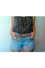 Black-urban-behavior-shirt-gray-shorts-brown-value-village-belt