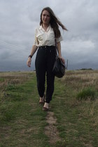 vintage blouse - vintage pants