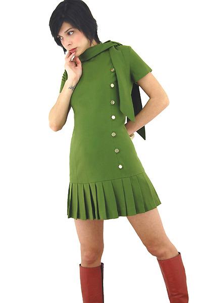 Go go style dress