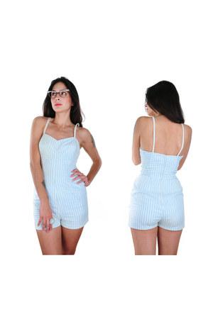 light blue nova vintage clothing swimwear