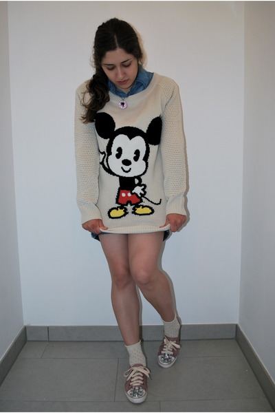 Mickey Mouse H&m Sweater