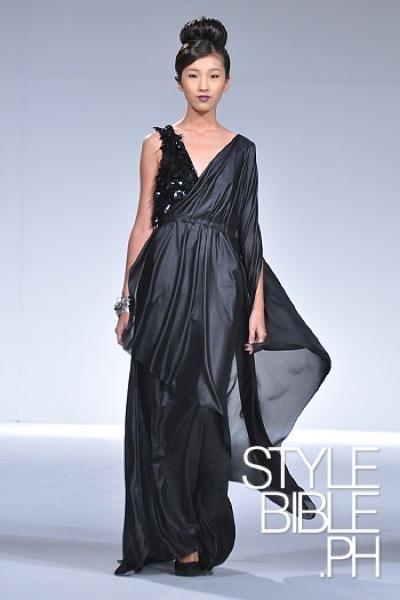black Noel Crisostomo dress