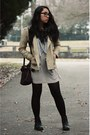 Black-combat-h-m-boots-off-white-uniqlo-dress-puce-american-eagle-scarf