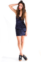 navy Insight dress