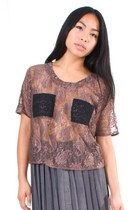 Light-brown-lucca-couture-top