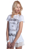 White-wildfox-couture-t-shirt