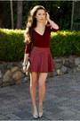 Crimson-awwdore-skirt