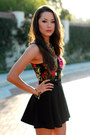 Black-romwe-skirt-ruby-red-living-royal-top-black-shay-accessories-necklace
