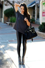 Heather-gray-zara-boots-black-hale-bob-leggings-charcoal-gray-lamixx-shirt
