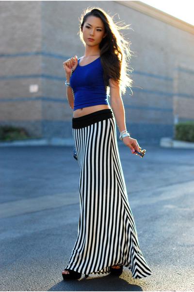 furor moda skirt - American Apparel top