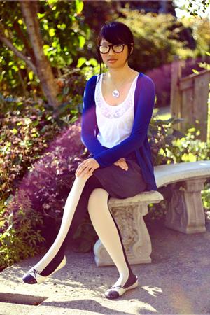 white Jennifer Taylor shoes - white Topshop shirt - white wilfred tights