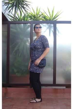 H&M dress - Mango sunglasses - H&M shoes - H&M accessories