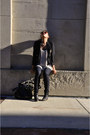 Black-h-m-boots-skinny-jeans-forever-21-jeans-vintage-blazer