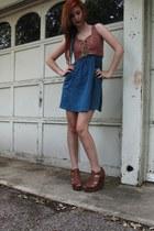 wedges - dress
