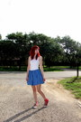 White-tank-top-lilu-top-blue-denim-diy-skirt-red-high-top-converse-sneakers