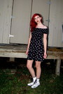 White-combat-boots-black-poppy-boots-black-smocked-exhilaration-dress