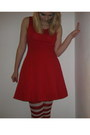 Red-dress-new-look-dress-tights-white-petticoat-skirt