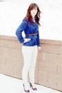 Wool-vintage-blazer-target-heels-corduroy-american-eagle-pants-striped-vin