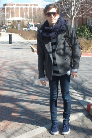 Marc by Marc Jacobs shirt - Levis jeans - Vans shoes - H&M coat - American Appar