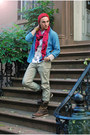Brown-red-wing-jcrew-boots-red-knitted-random-hat